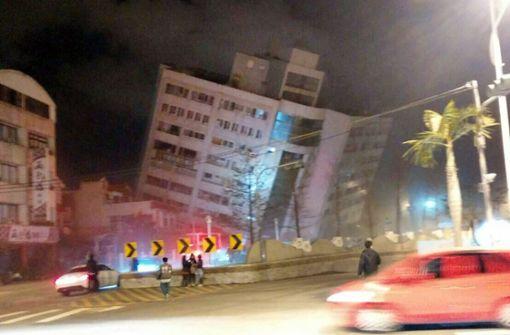 Tote nach Erdbeben