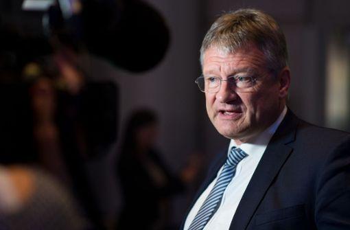 Prüft rechtliche Schritte gegen die Grünen-Politikerin Gisela Erler: AfD-Chef Jörg Meuthen. Foto: dpa