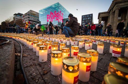 Tausende Kerzen für eine gerechtere Welt