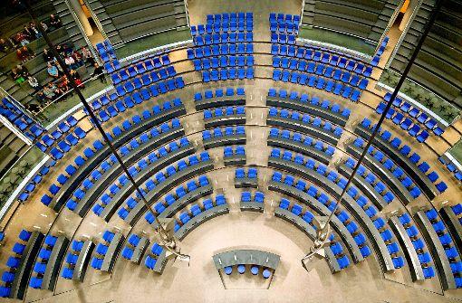 Bundestag wird erst langsam arbeitsfähig