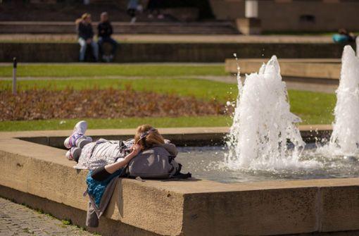 Sommerliche Temperaturen bis zu 28 Grad