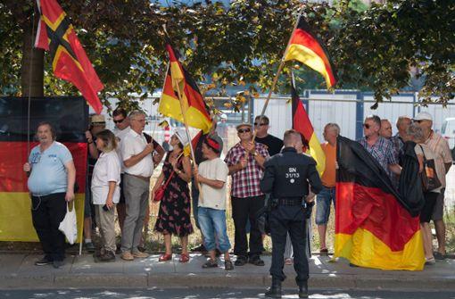 Pegida-Demonstrant ist LKA-Mann