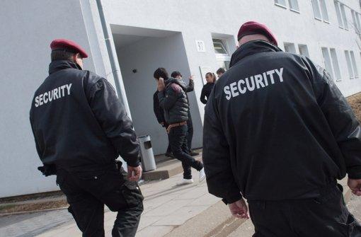 Verträge mit Sicherheitsdienst gekündigt