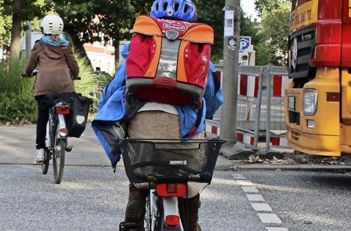 Das Elterntaxi ersetzt das Fahrrad