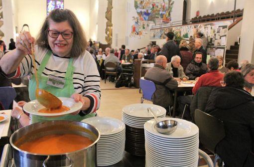 Die Pauluskirche wird zum 100. Mal zum Speisesaal