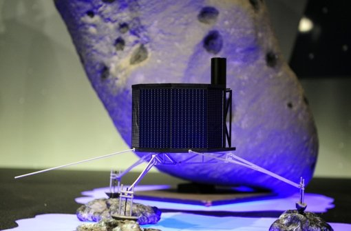 Forscher schalten Kometen-Lander ein