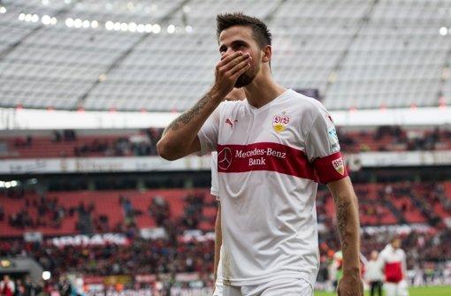 Der VfB-Stürmer Martin Harnik fällt im Spiel am Samstag aus. Foto: Archiv/dpa