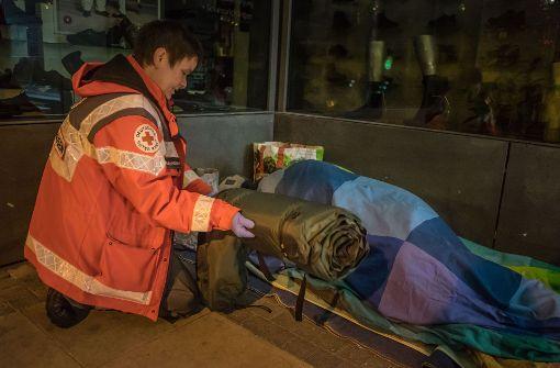 Obdachlose ziehen an die Gorch-Fock-Straße