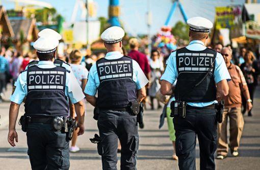 Polizei sieht einen Großkampftag kommen