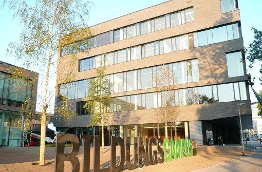 Der Heilbronner Bildungscampus strebt universitäre Weihen an. Foto: Fritz-Kador