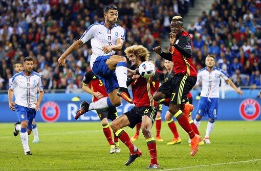 italien gegen belgien