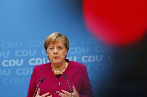 Merkel räumt Fehler im Umgang mit Fall Maaßen ein