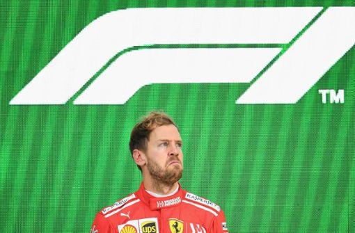 Sebastian Vettel muss sich warm anziehen