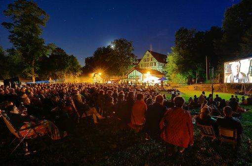 Open-Air-Kino im Schlosspark