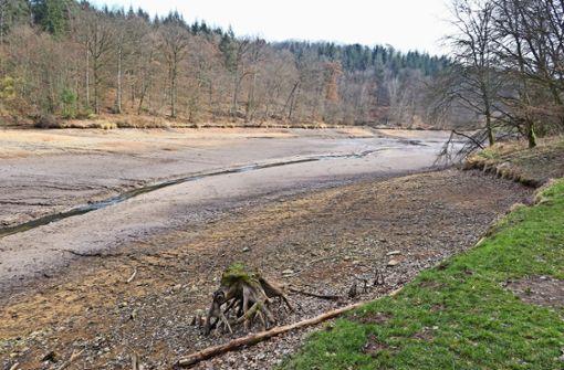Warum der Sulzbachstausee länger ohne Wasser bleibt