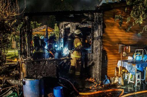 Feuerwehrmann bei Einsatz verletzt