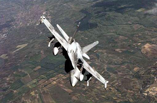 Spanisches Kampfflugzeug abgestürzt – Pilot tot