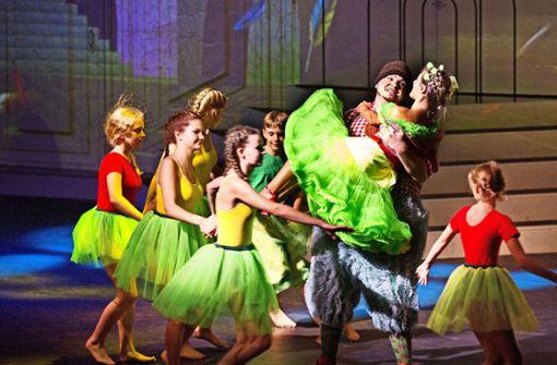 """""""Die Zauberflöte"""" von Wolfgang Amadeus Mozart präsentieren die Staufer Festspiele   in der Göppinger Werfthalle an insgesamt sieben Abenden. Foto: Horst Rudel"""