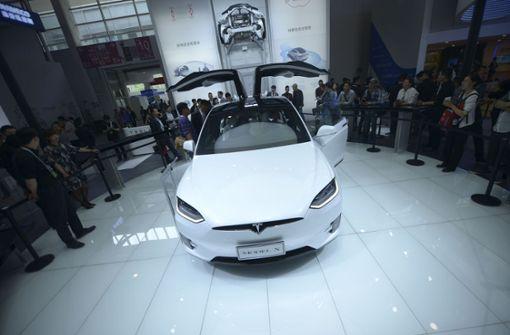 Zwei Modelle werden für chinesischen Markt teurer