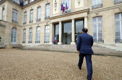 Franzosen stehen vor der Entscheidung