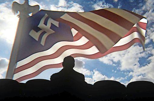 """Alternative Geschichtsszenarien mit dem Nationalsozialismus als Rahmen, wie hier in der Serie """"The Man in the High Castle"""", bilden ein Genre, das mit der historischen Distanz zunehmend beliebter wird. Foto: Amazon"""