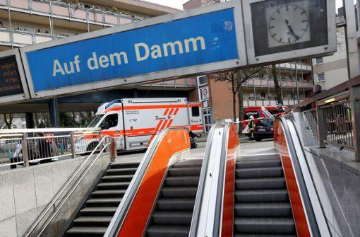 Viele Verletzte bei U-Bahn-Zusammenstoß