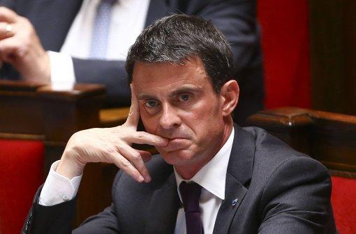 Frankreichs Premier Valls gewinnt einen Misstrauensantrag