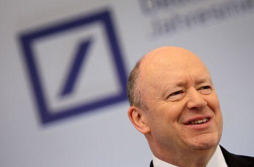 Deutsche-Bank-Chef ist angezählt