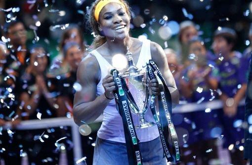 Serena Williams gewinnt Tennis-WM