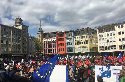 Ein Hauch von Frankreich-Wahl in Stuttgart
