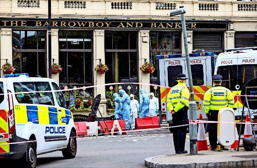 Zwölf Festnahmen nach Anschlag in London