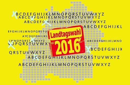 Die Landtagswahl in Baden-Württemberg von A bis Z Foto: Fotolia/Montage: Kruljac