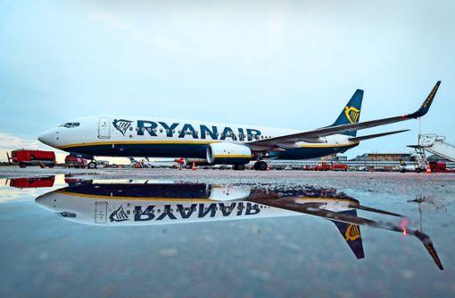 Ryanair bleibt am Boden