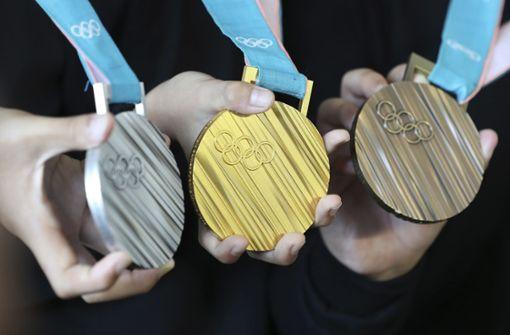 Deutschland im Medaillenspiegel knapp hinter Norwegen