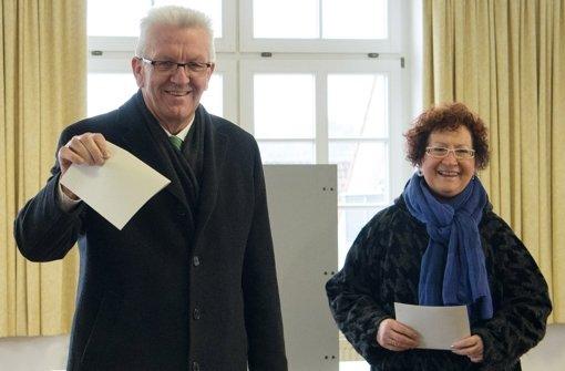 Winfried Kretschmann ist bei der Landtagswahl bestätigt worden. Foto: dpa