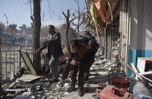 Dutzende Tote bei Explosion in Kabul