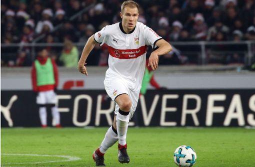 Holger Badstuber, von 2000 bis 2002 als Jugendspieler schon einmal beim VfB, spielt seit Sommer 2017 wieder in Stuttgart. Foto: Baumann