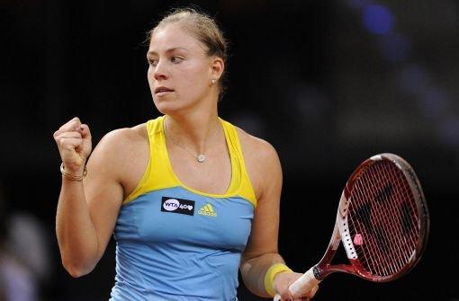 Kerber im Halbfinale gegen Scharapowa
