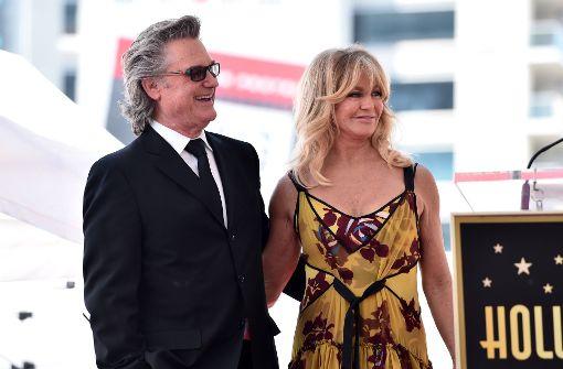 Goldie Hawn und Kurt Russell enthüllen ihre Sterne