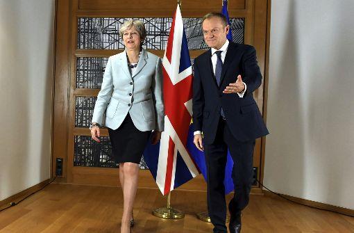EU und London kommen bei Scheidung voran
