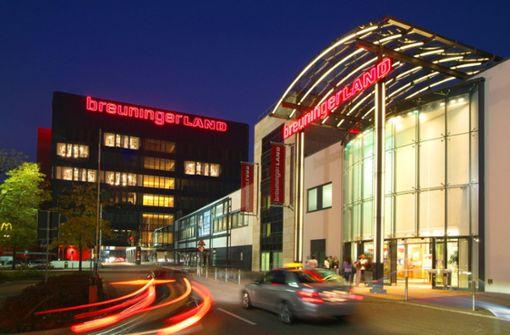 Das Breuningerland in Sindelfingen wurde von den Einkaufszentren der Region am besten bewertet und liegt bundesweit auf Rang 6. Note: 1,63. Foto: ECE