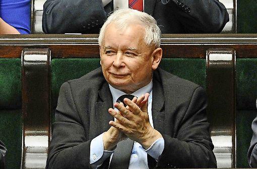 Jaroslaw Kaczynski brachte die Forderungen als Erster auf. Foto: AP
