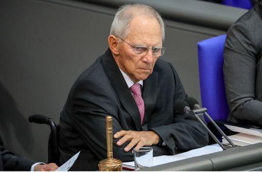Unzulässige Steuergelder? - Wolfgang Schäuble lässt prüfen