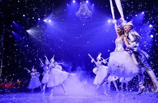 Elemente aus dem klassisschen Ballett.  Foto: Lichtgut/Max Kovalenko