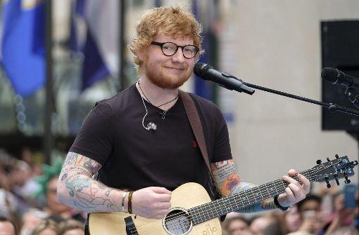 """Sorgt mit seinem Auftritt bei """"Game of Thrones"""" für Furore: Ed Sheeran (Archivfoto). Foto: AP"""