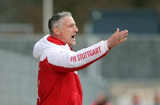 Beim VfB Stuttgart II um den Trainer Jürgen Kramny tut sich in der kommenden Saison einiges.  Foto: Pressefoto Baumann