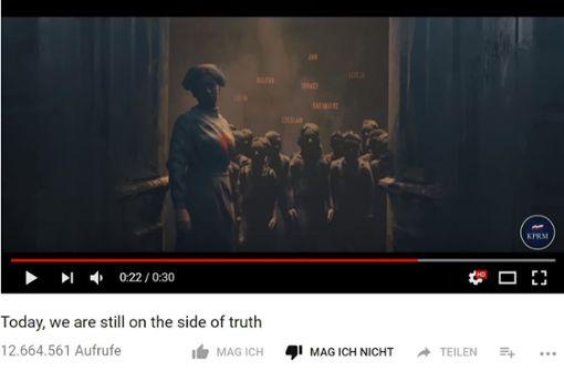 Ärger über Holocaust-Video im Stil eines Computerspiels