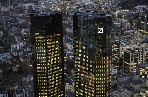 Wettbewerber hängen die Deutsche Bank ab