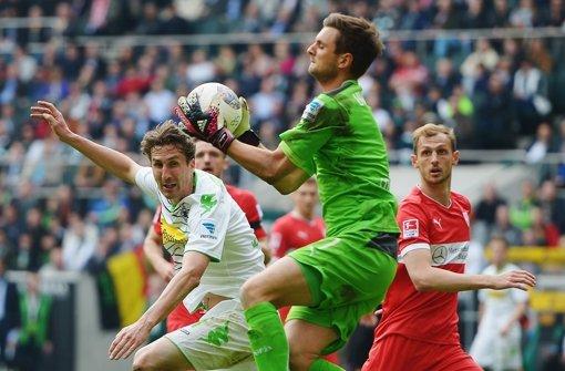 """Sven Ulreich: """"Das Unentschieden ist ärgerlich. Dennoch kann dieser Punkt noch ganz wichtig sein. Ich schätze, sieben Punkte brauchen wir noch."""" –  Note 2 Foto: Bongarts"""