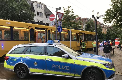 Stadtbahnfahrer wird nach Unfall verprügelt